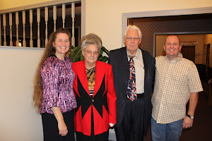 Susan and Charles with Pastor and Sis. Colvin of Winchester UPC.