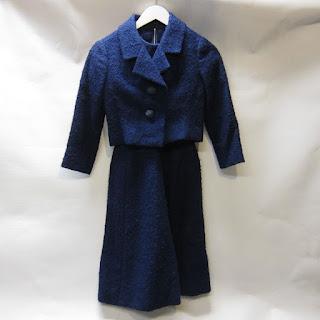 Christian Dior Automne-Hiver 1959 Bouclé Dress Suit