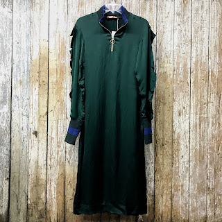 Maggie Marilyn NEW Bomber Contrast Dress