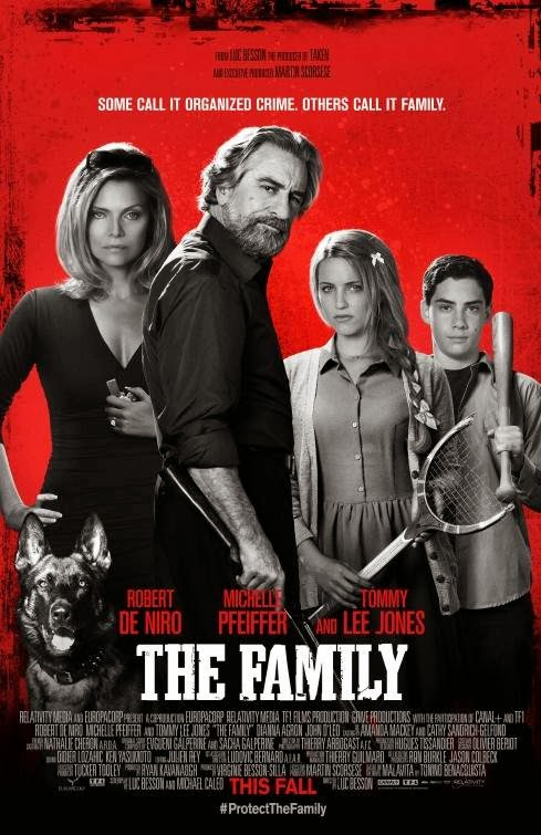 Poster Of English Movie The Family (2013) Free Download Full New Hollywood Movie Watch Online At Alldownloads4u.Com