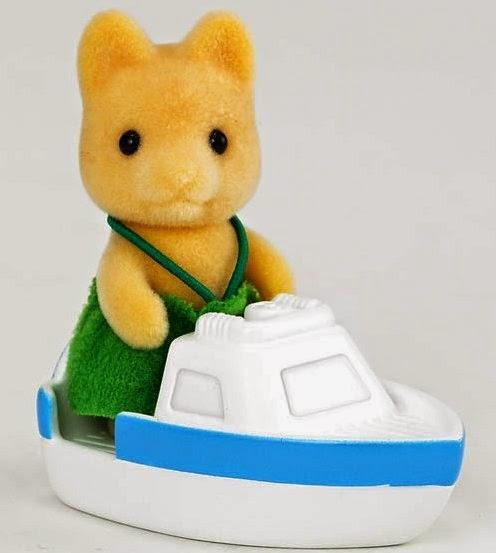 Đồ chơi Chó con Maple Dog Baby lái thuyền thật ngộ nghĩnh