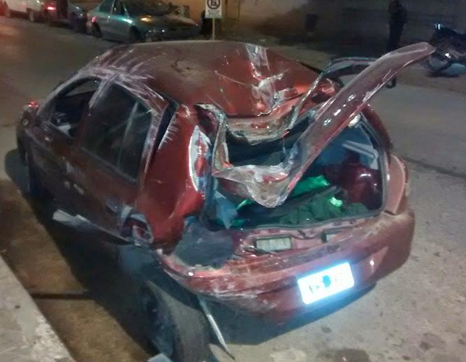 Tres accidentes en Ruta 6 (uno fatal), vuelcos e incendios con suerte