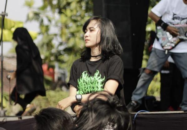 Ghian Felissianawati vokalis Genocide Band
