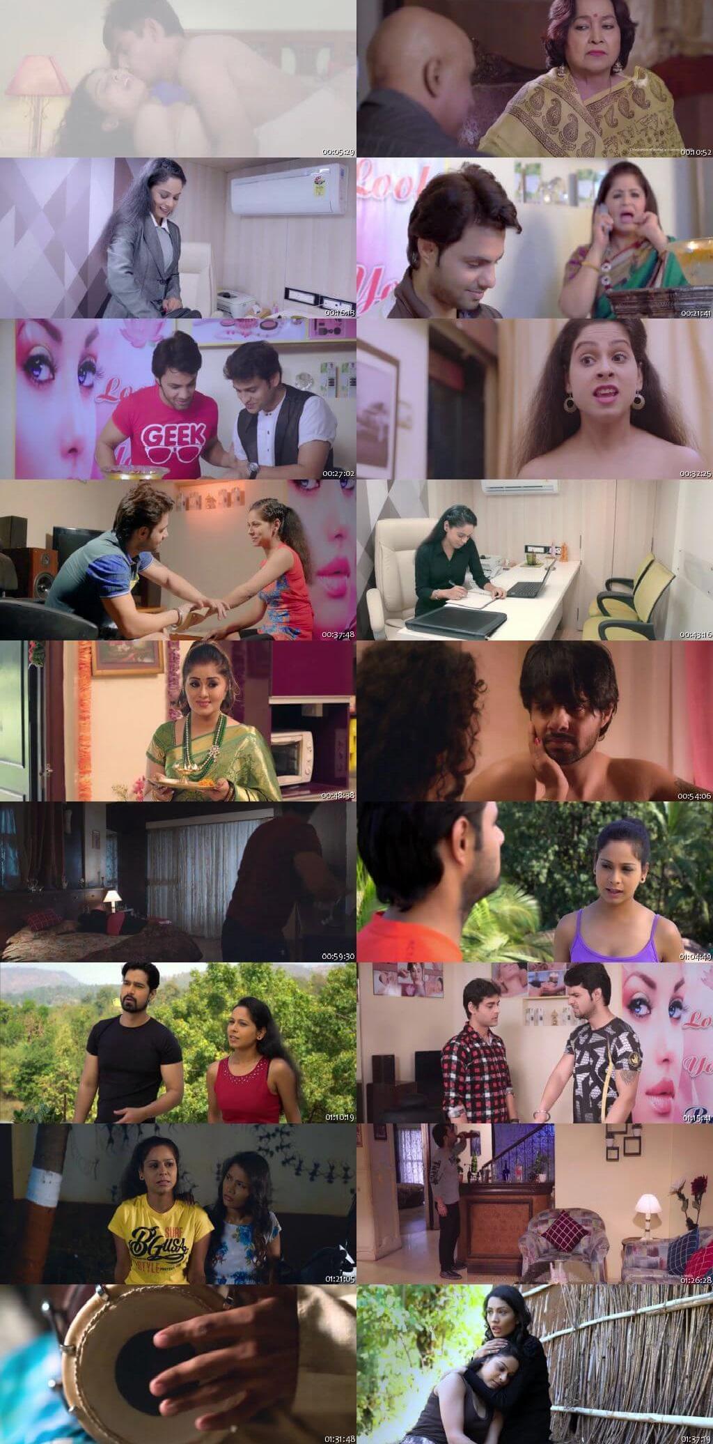 Screen Shot Of Love Shots 2019 300MB HDRip 480P Full Hindi Movie Watch Online Free Download
