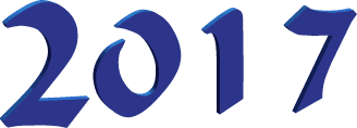 клипарт цифры 2017