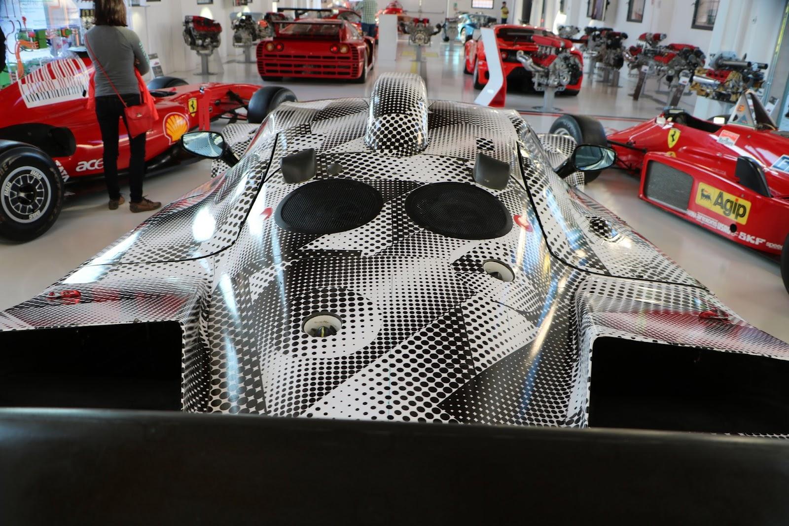 Modena - Enzo Museum 0258 - 2013 Ferrari F150 Laboratorio.jpg