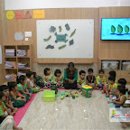 Green Day Celebration of Nursery Afternoon Section at Witty World, Chikoowadi (2017-18)