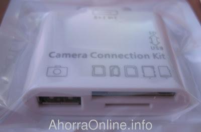 Kit de conexión para el ipad 2