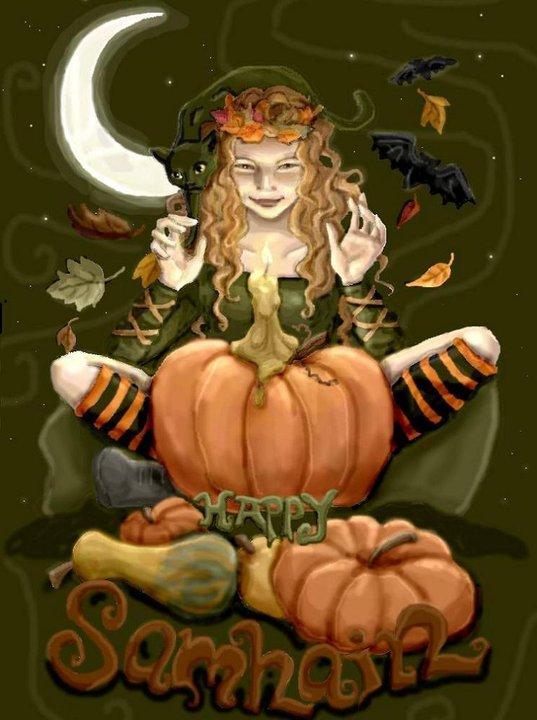Wiccan Pumpkin, Halloween