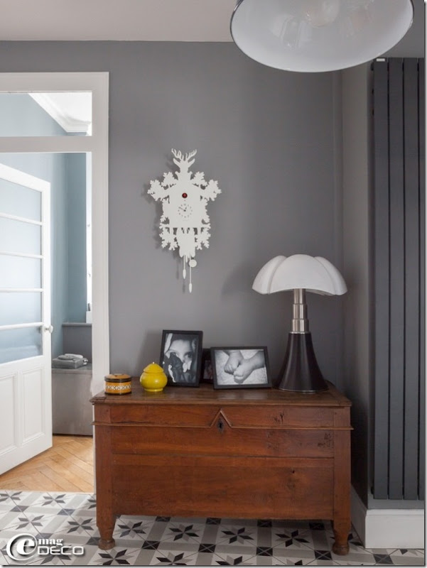 appartamento neo borghese in francia - case e interni - Arredamento Francese Moderno