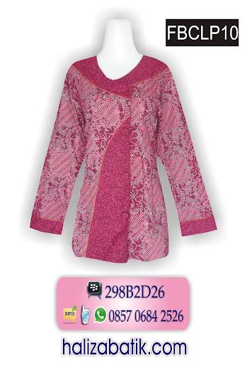 baju batik wanita modern, baju batik kantor, trend batik 2015