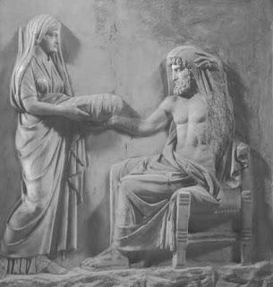 ημέρα Κρόνου,Ρέα δίνει λίθο στον Κρόνο,day of Saturn, Rhea gives stone to Saturn,