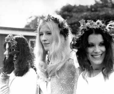 Maxine Celebrating Spring On Primrose Hill 1969, Maxine Sanders
