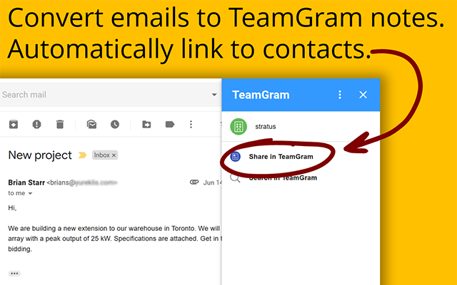 TeamGram Gmail Addon - G Suite Marketplace