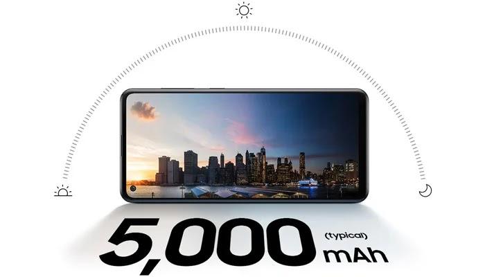 Samsung Galaxy A21s Baterai