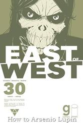 Actualización 23/03/2017: Se agrega el número #29 de East of West, por TarkuX y Cucaracho de la pagina de Facebook G-Comis.