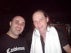 "With Lars ""Lasse"" Johansson, CANDLEMASS (SW)"