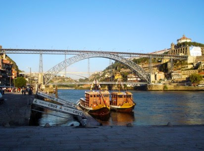Beautiful view of Porto