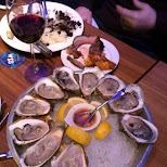 oysters in Toronto in Toronto, Ontario, Canada