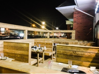 Kobi Korean BBQ Thornhill: patio