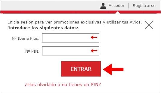 Abrir mi cuenta Iberia - 624
