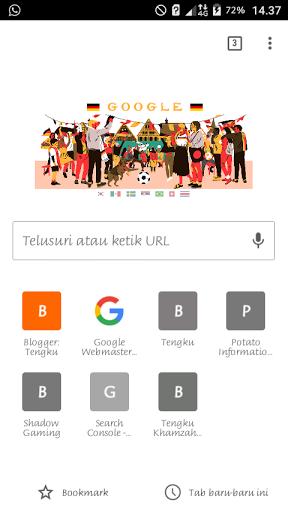 Mode incognito chrome Android