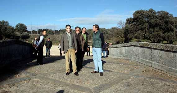Restaurado un puente del siglo XVIII en Boadilla del Monte