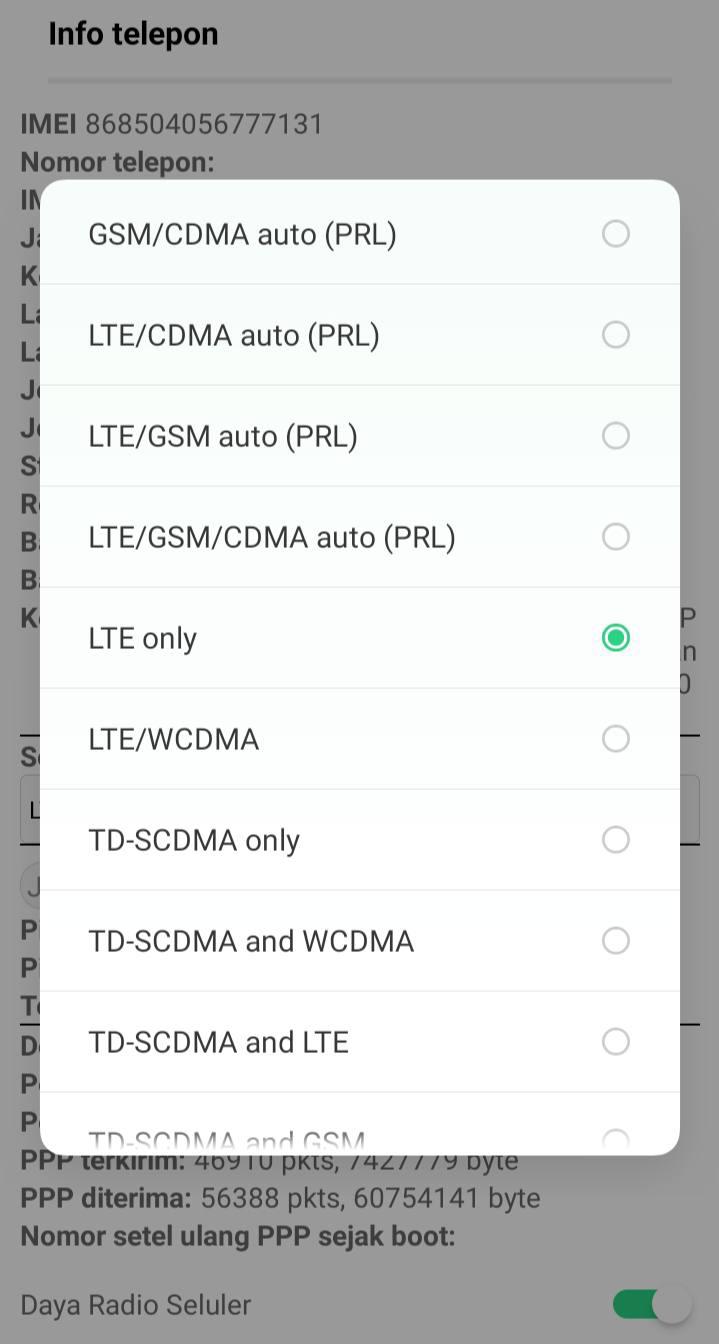 Cara Mengunci Jaringan 4G Mudah dan Praktis