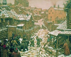 Медведчики (развлечение). Старая Москва, 1911