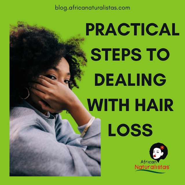 PRACTICAL STEPS TO DEALING WITH HAIR LOSS