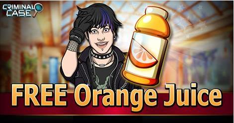Criminal Case Game - Collect Free + ORANGE JUICE