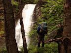 Cascadas en el Valle del Cinco Hermanos Cruce de Tierra del Fuego Trekking Desde Estancia Carmen al Lago Fagnano, y desde la Sierra Valdivieso al Canal Beagle! 7 dias de Trekking intenso.