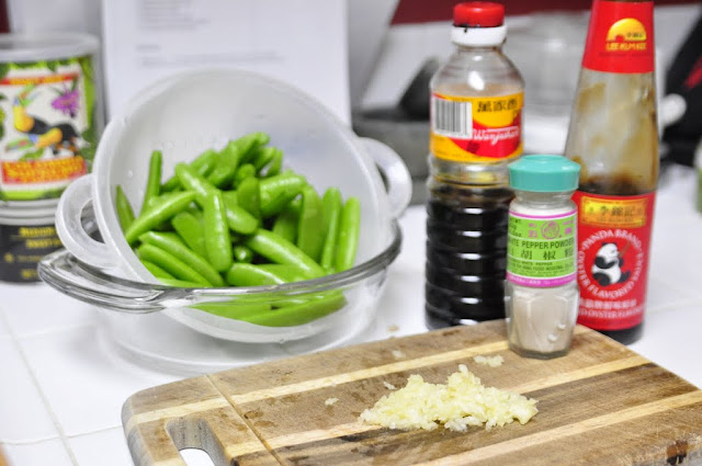 Stir Fry Sweet Peas