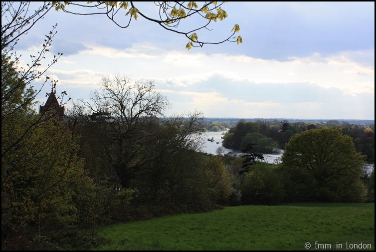 The Thames Flowing Through Richmond