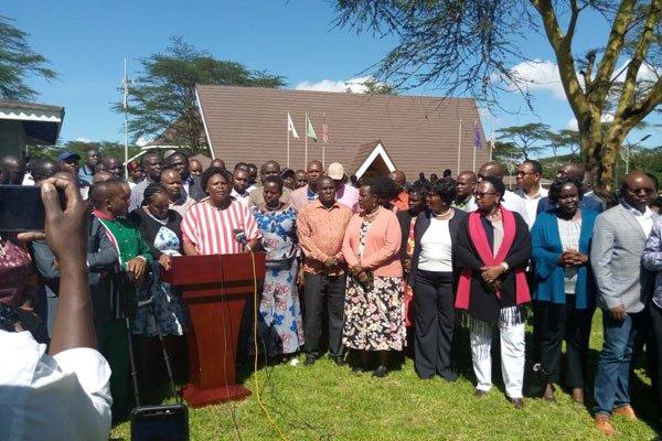 Rift Valley leaders conference at Naivasha lodge