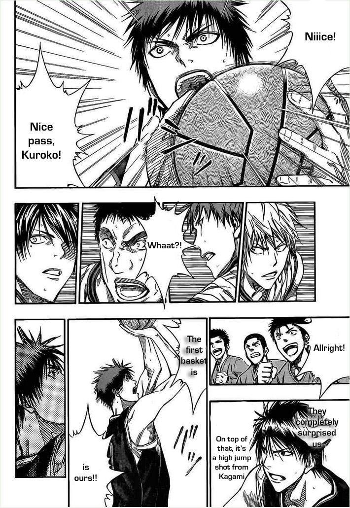 Kuroko no Basket Manga Chapter 146 - Image 15