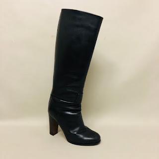 Céline Calfskin Boots