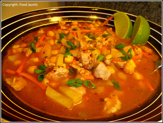 Chicken, Chickpea and Chipotle Chili Soup