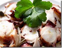Milos London grilled octopus