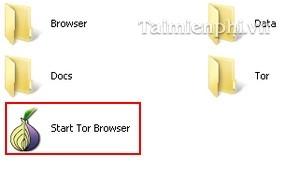 Thư mục Tor Browser