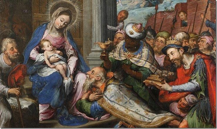 Adorazione dei magi, Gaspar Hovic, 1613 - Ruvo di Puglia