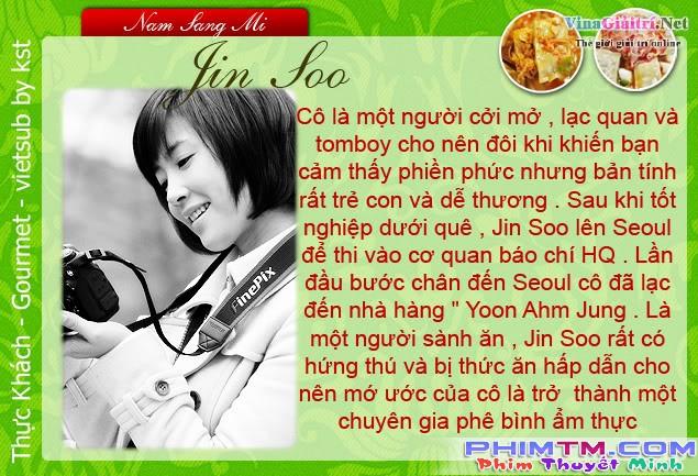 Gourmet 식객 -Thực Khách : Kim Rae Won, Nam Sang Mi, Kim So Yeon (Vietsub Ep 9)