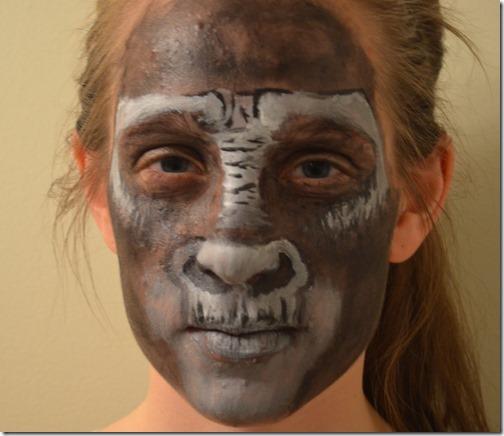 Maquillaje de gorila (15)