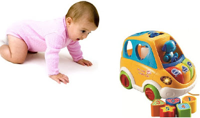 Xe ô tô thả khối Vtech Sort and Learn Car cho trẻ 1-3 tuổi