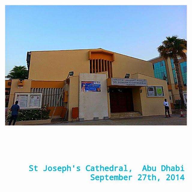 Travel Journal to Abu Dhabi UAE by ServicefromHeart St Joseph's Cathedral Catholics