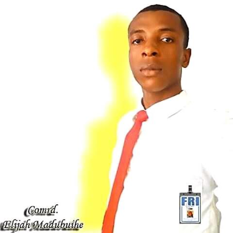 CONGRATULATIONS:Comrade Elijah Madubihe a.k.a Imsu Elijah