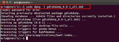 dd2 Cara Mudah Kloning Harddisk Ubuntu Dengan Gdiskdump 0.8