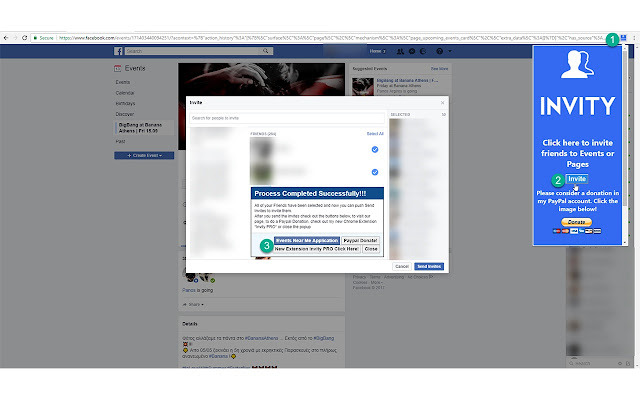 Invity Invite All Friends For Facebook
