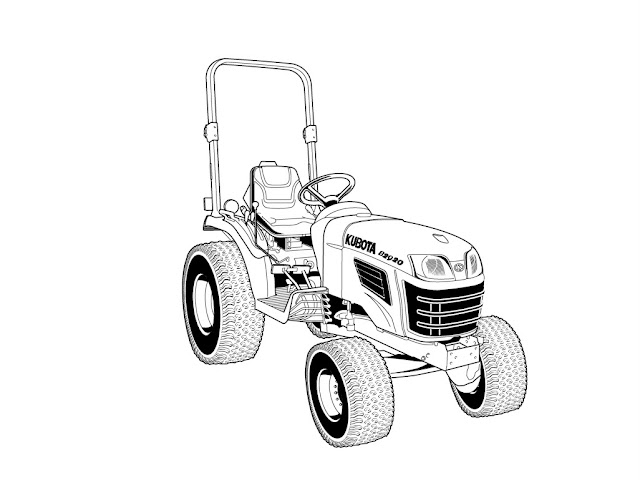 Find Kubota B2320 B2620 B2920 Operation Manual For Tractor Service