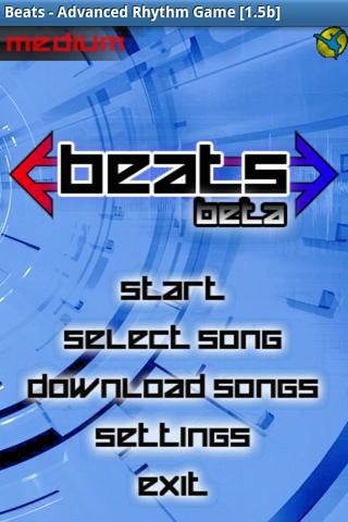 Скриншот Beats, Advanced Rhythm Game